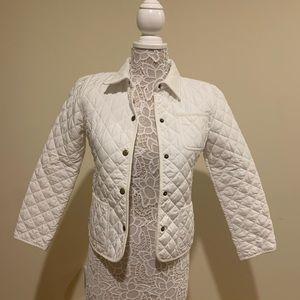 Ralph Lauren White Snap up Jacket
